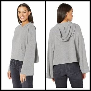 NWT cupcakes & cashmere Soft Sweater Hoodie Grey S